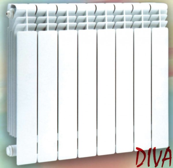 Радиатор отопления биметаллический Дива