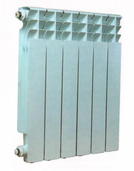 Радиатор секционный Esperado алюминиевый SOLO 500, P= 16 атм, Q=137 Вт, t=50 С за 183.60 грн/секция