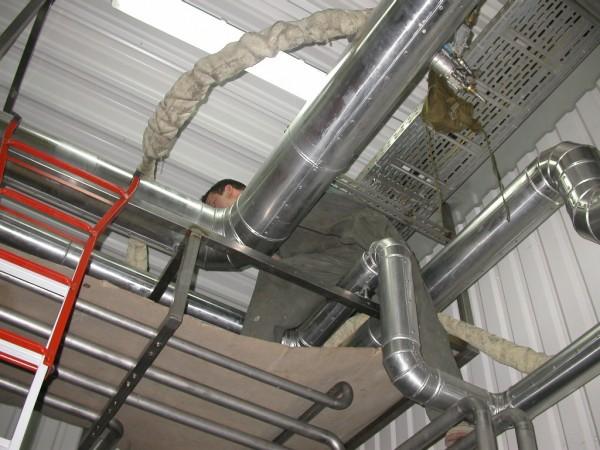 Холодо-, теплоизоляция различных типов трубопроводов пенополиуретаном Elastopor H/Elastospray