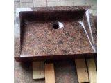 Фото  1 Раковина з червоного граніту 50 * 35 * 10 1946013