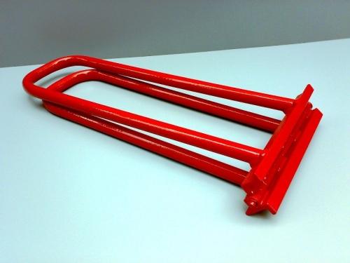 Рамка для закрытия двойного стоячего фальца (универсальная). Ручной кровельный инструмент.