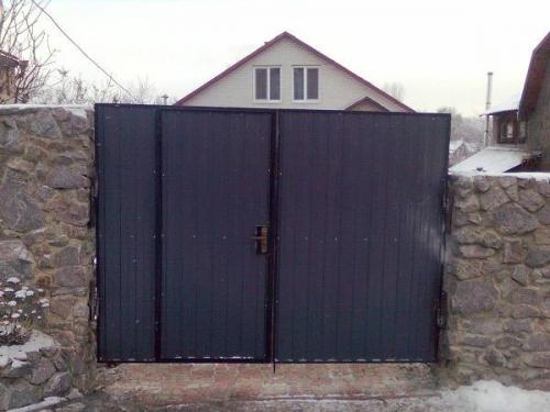 распашные ворота киевская обл.