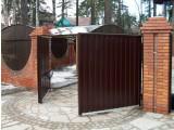 Ворота из профнастила в Виннице. Недорого