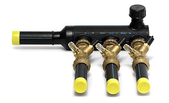 Распределительная гребенка с балансировочным клапаном, MuoviTech, Швеция Бренд: MuoviTech Страна производитель: Швеция