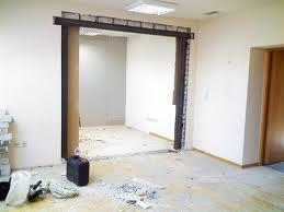 Расширение дверных проемов
