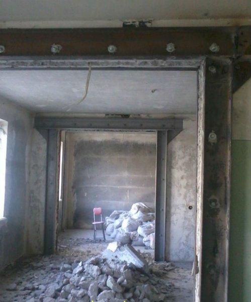 Фото  1 Расширение проемов в бетонной стене на промышленных объектах - резка, пробивка, вырезание 1872838