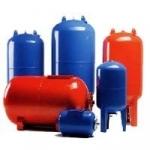 Расширительные баки (гидроаккумулятры) для воды и отопления