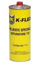 Растворитель K-Flex THINNER (1л)смесь органич. растворителей, для очистки склеиваемых пов-тей, очистки инст-ов