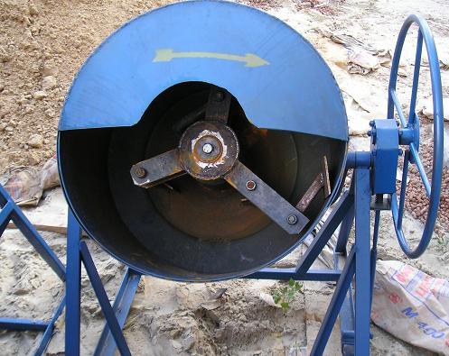 Растворомешалка РБП-150-250