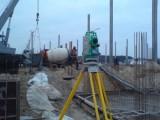 Разбивочные работы в процессе строительства