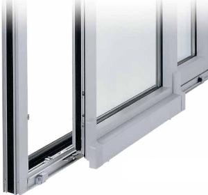 Раздвижные двери, окна из холодного и теплого алюминиевого профиля