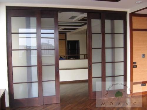 Раздвижные межкомнатные двери и перегородки Модус! миллион вариантов исполнения и технических решений.