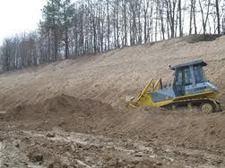 Разработка песчаного грунта вручную