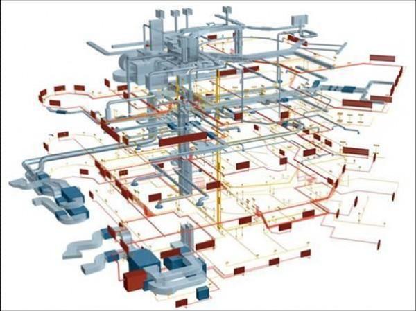 Разработка проекта инженерных сетей