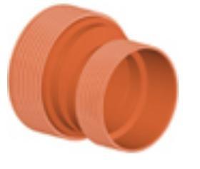 Редукция ПП для гофрированных труб InCor D 500 х 400 мм