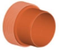 Редукция ПП InCor-ПВХ для гофрированных труб D 250 х 250 мм