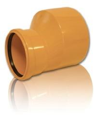 Редукция ПВХ для безнапорной внешней канализации D 250 х 200 мм