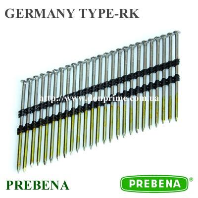 Реечные гвозди по дереву Тип - RK