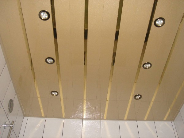 Реечные потолки