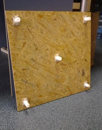 Регулируемые плиты Осб, фанеры. Регулируемые по высоте винты и втулки для крепления плит (Осб, фанеры) на пол.