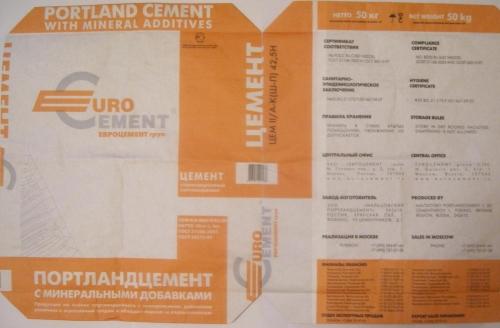 Регулярные поставки бумажных мешков для цемента