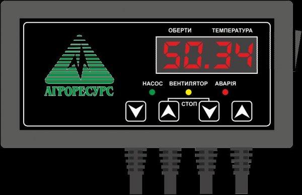 Фото  1 Регулятор температуры для твердотопливного котла MРТТК-02 Техмік 1745471