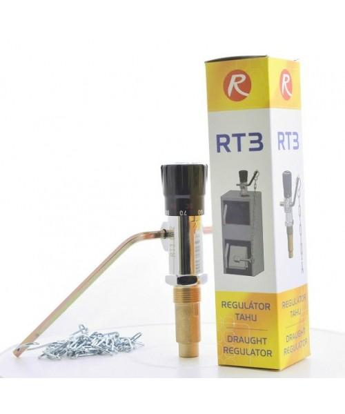 Регулятор тяги Regulus RT3 к твердотопливным котлам
