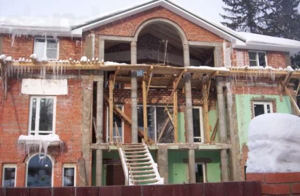 Реконструкция домов, квартир.