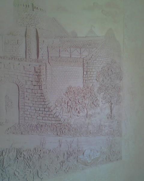 рельефная композиция на стене, потолке. т. 0995443477