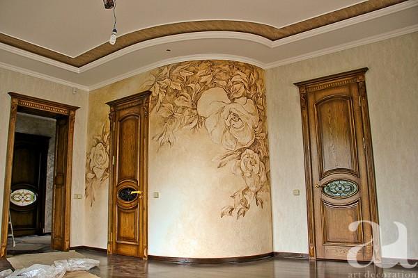 Рельєфний розпис стін