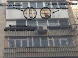 Фото 1 Ремонт зовнішнього обшиття балкону 343157