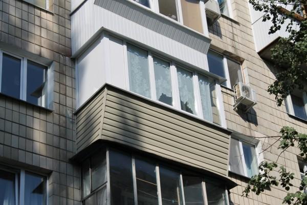 Ремонт балкона под ключ 3 метра