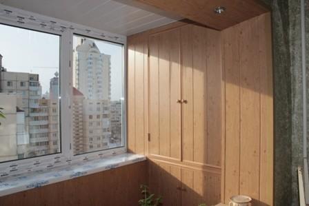 Ремонт балкона под ключ на Радужном