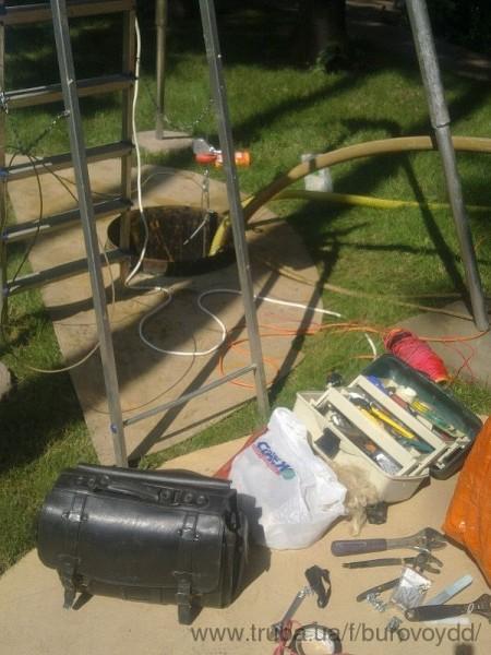 Ремонт, чистка старых скважин, видеодеагностика, оцениваем состояние скважины. Достаем насосы.