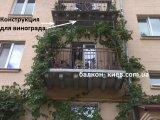 Фото  3 Ремонт балкона: окраска ограждений, сварка конструкции под виноград 2270804