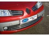 Фото  1 Renault Megane 5D/3D/Sedan/SW (2006-2010) Накладки на решетку радиатора 4шт 2423792