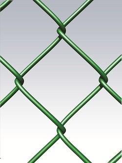 REPLAX T70 - плетеная сетка (рабица) из оцинкованной проволоки, с ПВХ-покрытием.