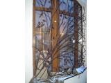 Кованые решетки на окна в Харькове.