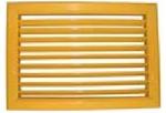 Решетка вентиляционная регулируемая однорядная РВ2535-1(9016) 100х100(h)
