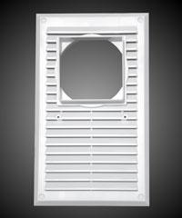 Решетка вентиляционная в ассортименте. На стену и потолок. Два варианта крепления. Сетка от насекомых.