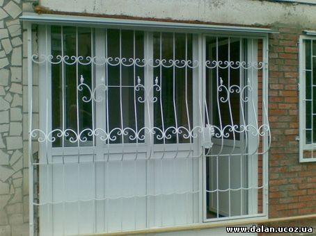 Решетки оконные, дверные, тамбурные