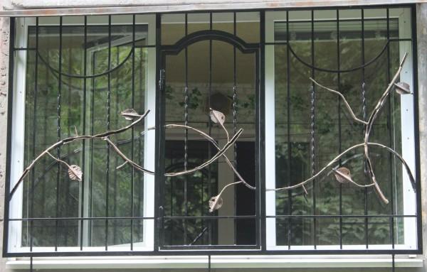 Решетки сварные, кованые на окна