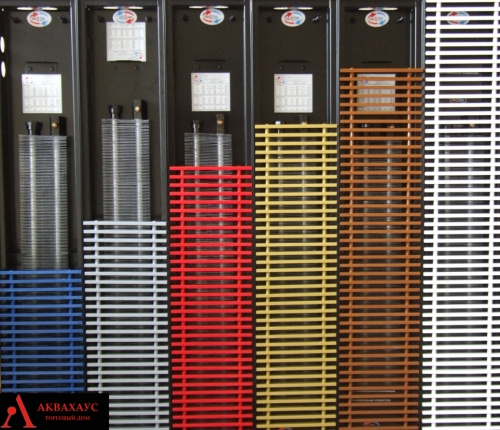 Решітка декоративна TM  Fancoil  ( дюралюмінієва або дуб ) будь-якого кольору за шкалою RAL.