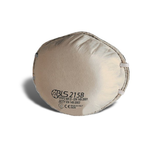 РЕСПИРАТОР BLS 215B FFP2 защита от кислот и паров алюминия