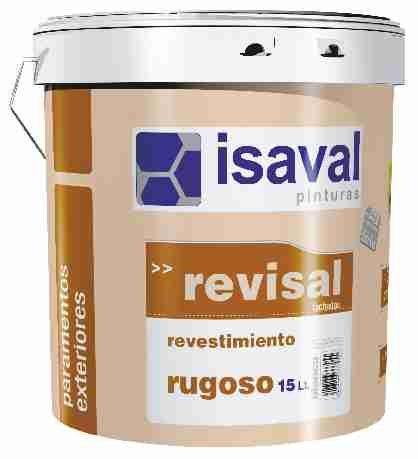 Фото  1 Фасадная текстурная краска РЕВИСАЛЬ РУГОСО 25 кг - 30-50м2 2079926
