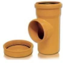 Ревизия ПВХ для безнапорной внешней канализации D 110 мм