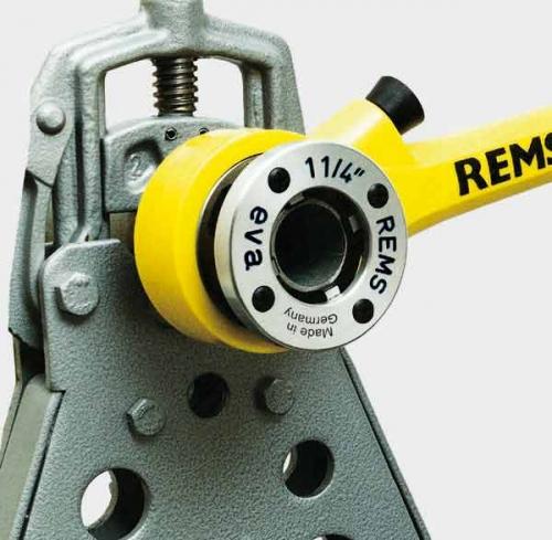 Резьбонарезной клупп высокого качества Rems Ева Трубная резьба 1/8–2, 16–50 мм.