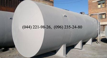 Резервуар стальной объёмом 100 м3
