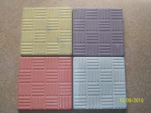 Резинка 16 шт. на 1 кв. м размер 25*25 толщина 3,0 см цвета:желтый, черный, красный, коричневый, серый и мрамор