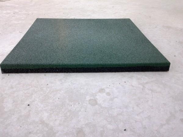 Резиновая плитка Укрплит, толщина 10 мм, 500*500 мм